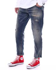 Jack & Jones - Cropped Distressed Jean-2530048