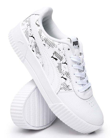 Puma - Carina Hand Drawn Jr Sneakers (4-7)