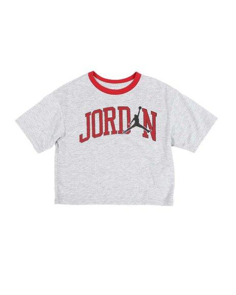 Air Jordan - JDG Jordan Open Late Boxy Cropped Tee (7-16)