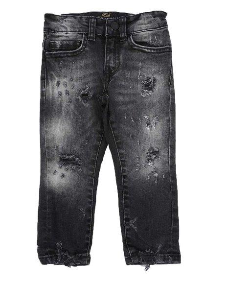 Jordan Craig - Distressed Rip & Repair Jeans (2T-4T)