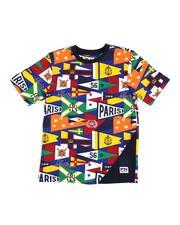 T-Shirts - AOP Printed Tee (8-20)-2532440