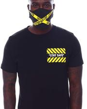 BLVCK - Keep 6 Feet Away Tee w Mask-2532781