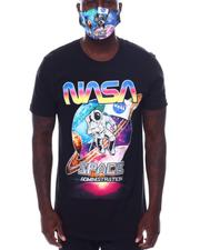 cartoons-pop-culture - Saturn in Space Nasa Tee and Mask-2532838