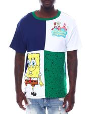 FREEZE - Spongebob ColorBlock Tee-2533599