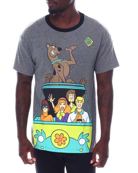 FREEZE - ScooBy Doo Oversized Back Print Ringer Tee