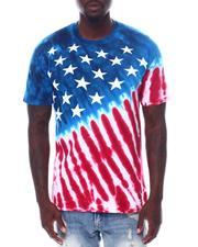 Liquid Blue - Americana Tie Dye Tee-2533464