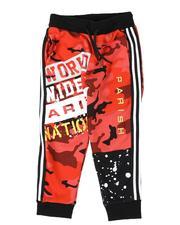 Sweatpants - Color Block Jogger Pants  (4-7)-2532469