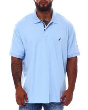 Nautica - Short Sleeve Solid Anchor Deck Polo (B&T)-2532723