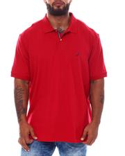 Nautica - Short Sleeve Solid Anchor Deck Polo (B&T)-2532734