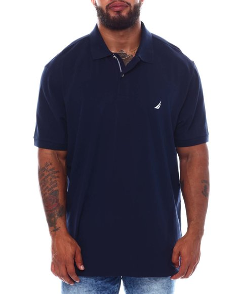 Nautica - Short Sleeve Solid Anchor Deck Polo (B&T)