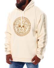 Makobi - Medusa Fur Hoodie Pullover Sweatshirt (B&T)-2533206