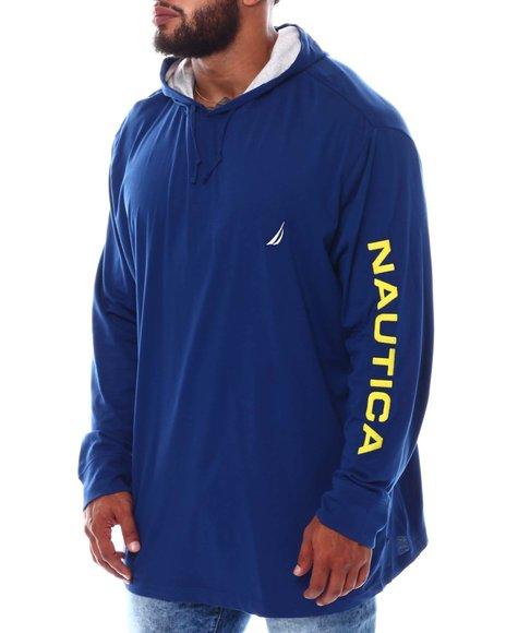 Nautica - Long Sleeve Hoodie (B&T)
