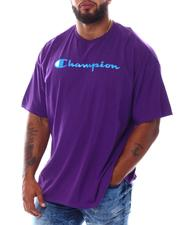 Champion - S/S Retro Champion Script Tee (B&T)-2532885