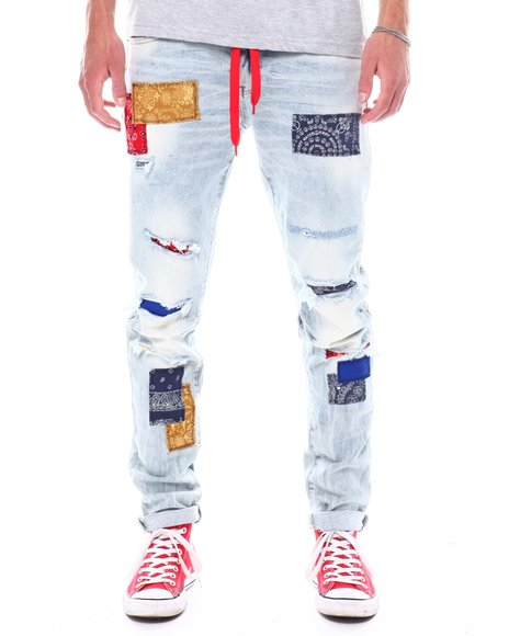 Kloud 9 - Bandana Patch Jean