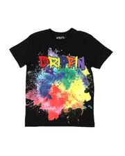 Rebel Minds - Drippin Tie Dye T-Shirt (8-20)-2534227
