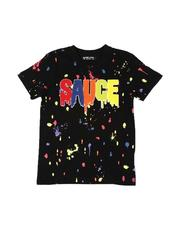 Rebel Minds - Sauce Drip Paint Splatter T-Shirt (8-20)-2534237