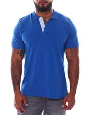 Men - Solid Color Polo Shirt (B&T)-2535023
