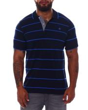 One in A Million - Stripe Polo Shirt (B&T)-2534543