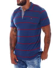 One in A Million - Stripe Polo Shirt (B&T)-2534601