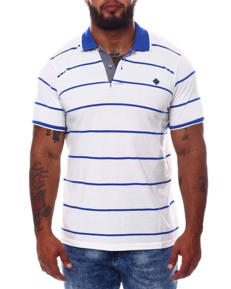 One in A Million - Stripe Polo Shirt (B&T)