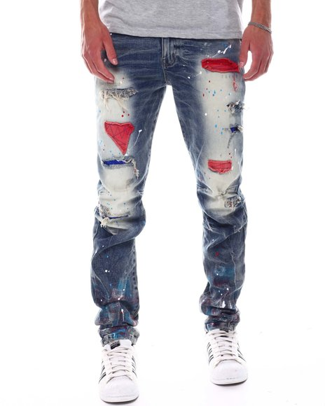 Kloud 9 - Americana Splatter Jean
