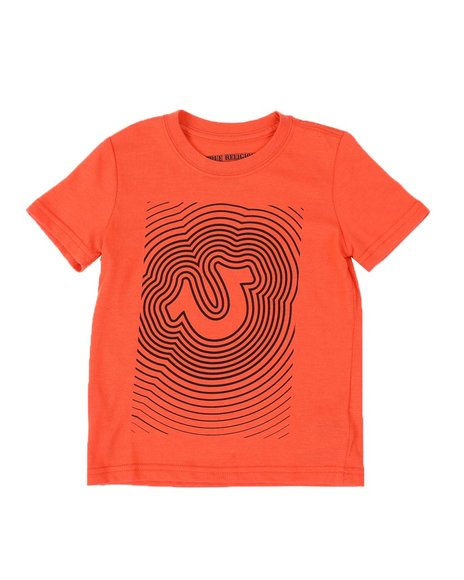 True Religion - HS Waves Logo Tee (4-7)