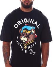 Short-Sleeve - Original Hustle T-Shirt (B&T)-2533634