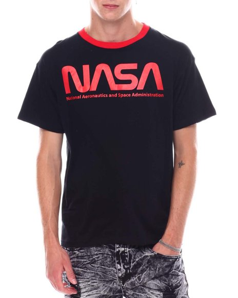 FREEZE - Nasa Oversized Back Print Ringer Tee