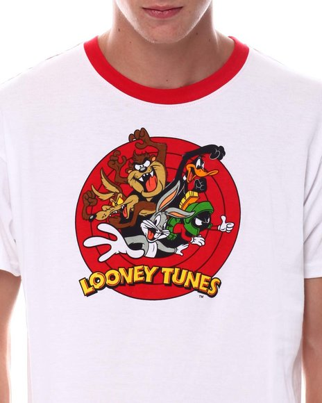 FREEZE - Looney Tunes Oversized Back Print Ringer Tee