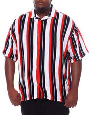 Big & Tall - Stripe Printed Shirt (B&T)-2534380