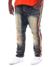 Makobi - Side Tape Shredded Jeans (B&T)-2534485