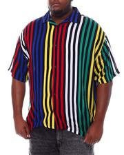 Big & Tall - Stripe Printed Shirt (B&T)-2534416