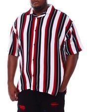 Big & Tall - Stripe Printed Shirt (B&T)-2534473