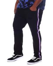 Makobi - Contrast Side Tape Jeans (B&T)-2534575