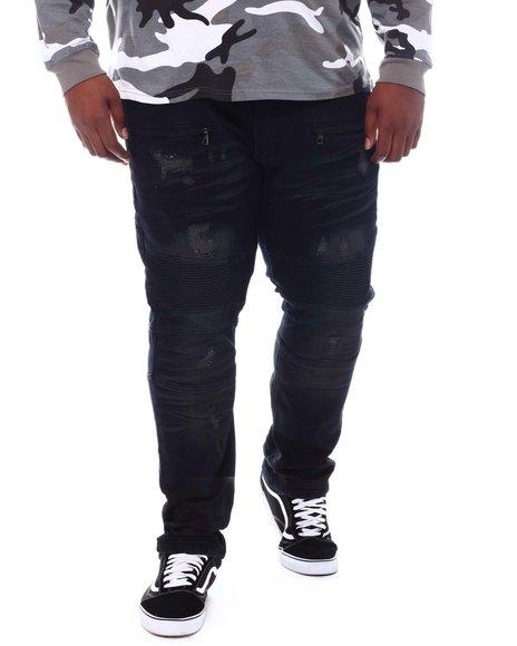 Makobi - Rip & Repair Biker Jeans (B&T)