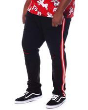 Makobi - Contrast Side Tape Jeans (B&T)-2534449