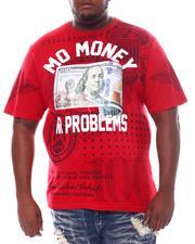 Big & Tall - Mo Money No Problems Benjamin T-Shirt (B&T)-2534412
