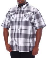 Big & Tall - Plaid Woven Shirt (B&T)-2534839