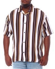 Big & Tall - Stripe Printed Shirt (B&T)-2534376