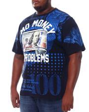 Big & Tall - Mo Money No Problems Benjamin T-Shirt (B&T)-2534395
