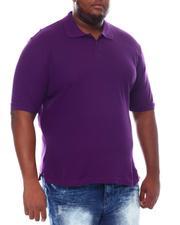 Big & Tall - Basic Polo Pique Shirt (B&T)-2534781