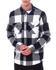 HUF - HEIGHTS LS FLANNEL-2533823