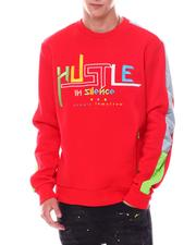 Create 2MRW - Hustle Crewneck Sweatshirt-2533828