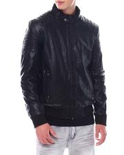 Outerwear - PU Bomber Jacket-2534167