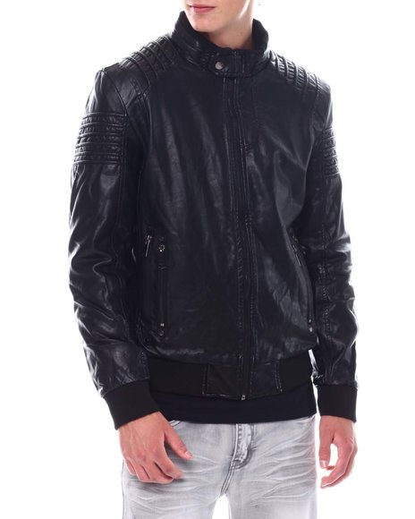 Buyers Picks - PU Bomber Jacket