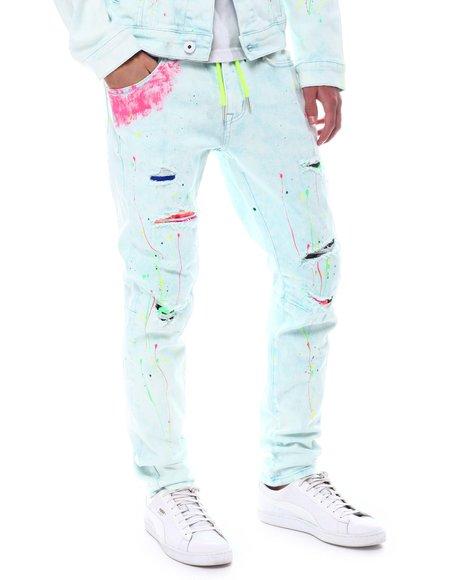 Kloud 9 - Pastel Splatter Jean