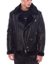 Going-Out-Outfits - FAUX SHEARLING MOTO JACKET-2534205