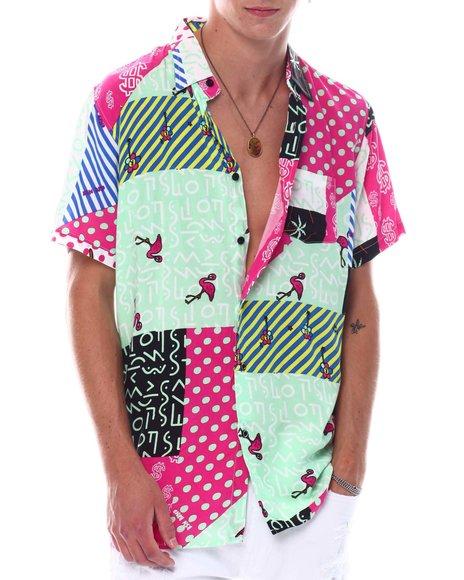 Reason - Color Quilt Shirt