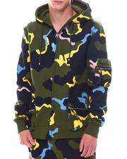 cartoons-pop-culture - Camo 3D POCKET FLEECE HOODIE-2533686