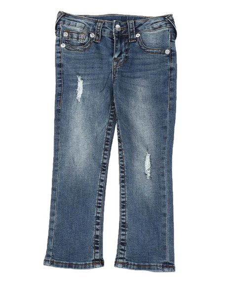 True Religion - Geno Straight Leg Jeans (4-7)